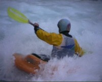 Kayak Freestyle - Flip-Flap 2005 - Saint P� de Bigorre - Great-Pyrenees - France