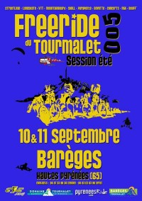 Second Tourmalet Freeride Summer session 2005 in Bar�ges Great-Pyr�n�es France